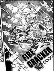 Firecracker poster with Rockets