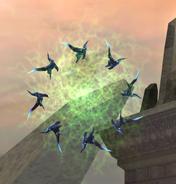 Phazon Nightbarbs green orb