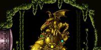Golden Statues