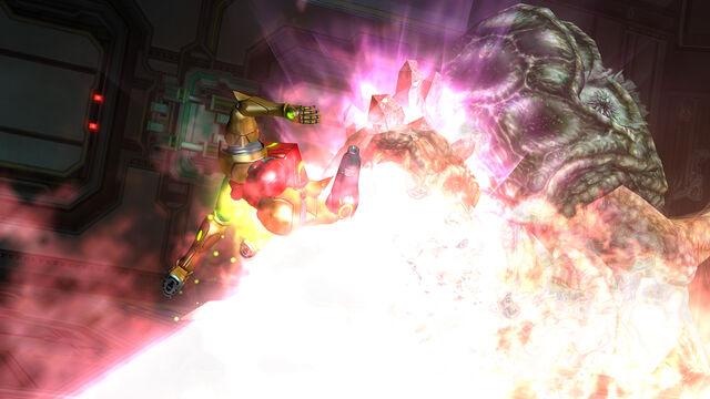 File:Queen Metroid SenseMove flames Room MW Bioweapon Research Centre HD.jpg