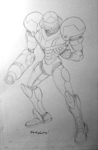 File:Metroid Archie Samus lone concept.jpg