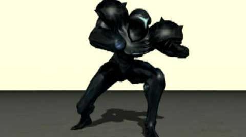 Dark Samus Sneaking animation