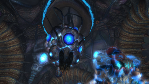 Phazon Core emerges.png