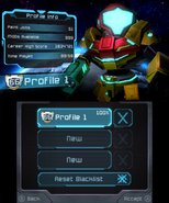 Federation Force Data Screen
