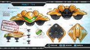 Metroid Other M Gunship Art 74
