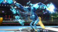 Zamus kicking air