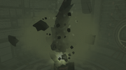 MP2 Alpha Blogg crushes central pillar of Main Hydrochamber.png