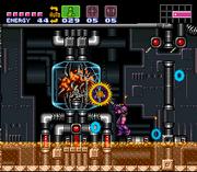 Super Metroid Mother Brain tank