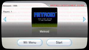 Metroid (PAL) VC Channel preview