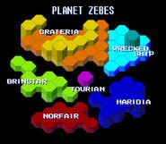 Zebes Hexa Map