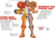 Samus Aran Varia suit Super Metroid Player's Guide 1994