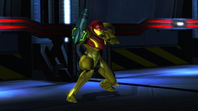 File:Samus Power Suit Main Sector attack stance HD.jpg