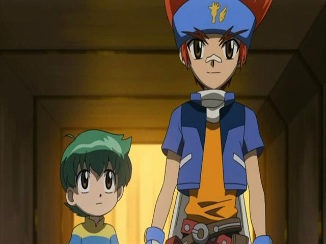 File:Ginga playing the hero to save Kenta.png