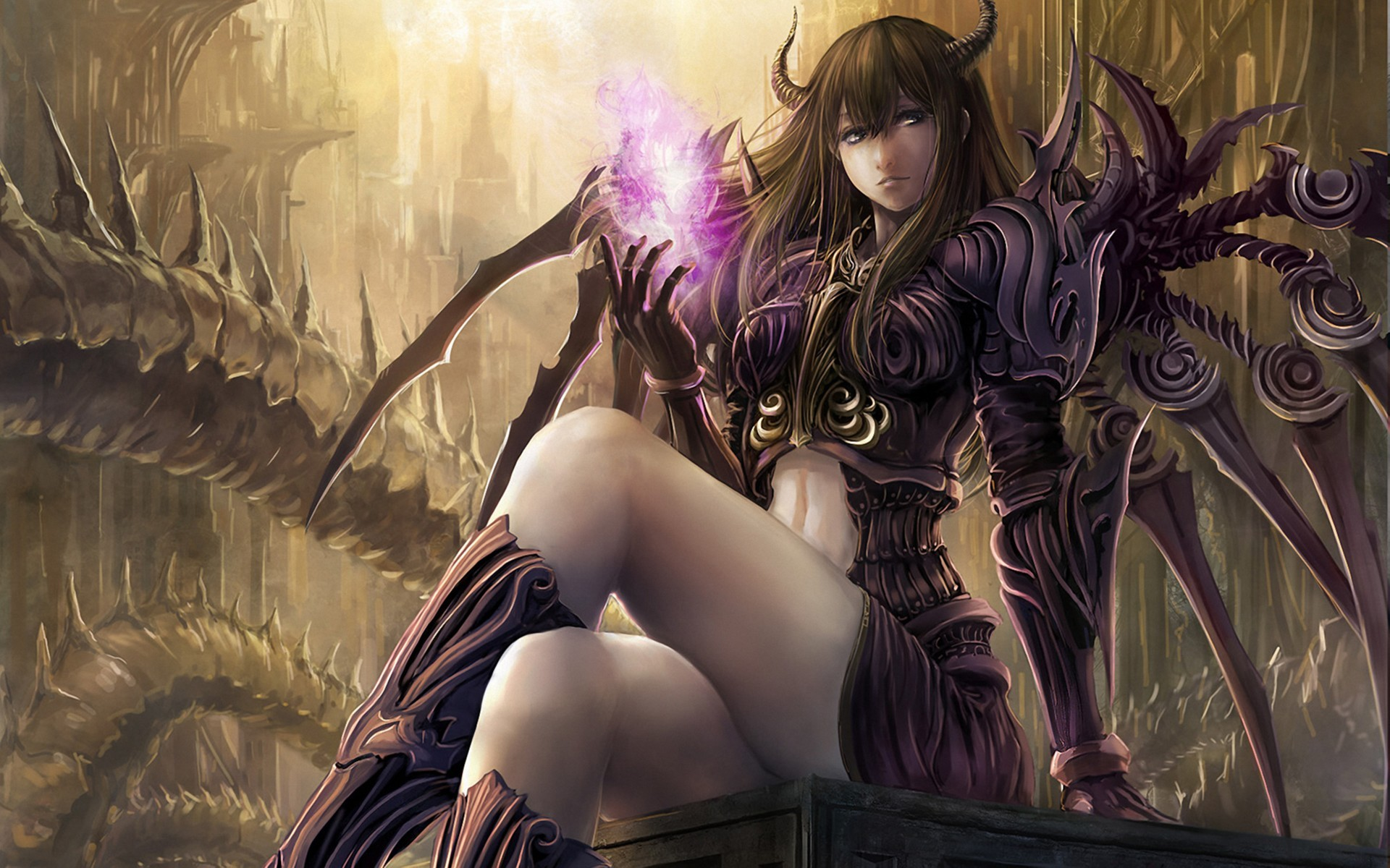 Photo Collection Demon Girl Wallpaper Images