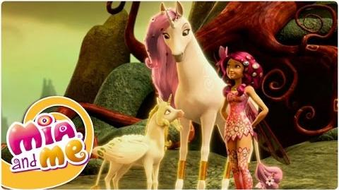 Mia and me - Temporada 1 Episodio 5 - El Unicornio Dorado (videoclip2)