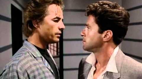 Crockett Beat it, before I book you for air pollution. (Miami Vice)