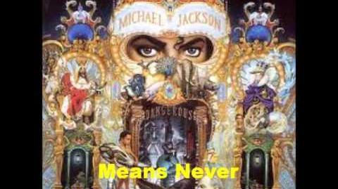 Keep The Faith - Michael Jackson-0