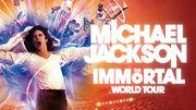 Cirque du Soleil Michael Jackson immortal world tour logo
