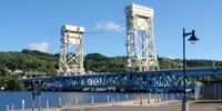 Portage Lake Lift Bridge
