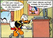 Donald duck scanstation
