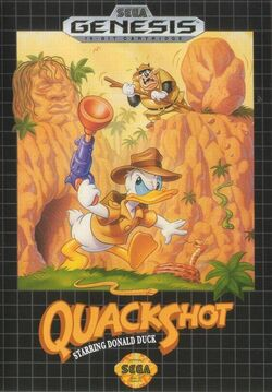 Quackshot cover art