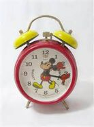 Vintage micky clock