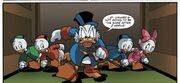 Scrooge,Huey, Dewe , Louie and Webby- comic-2
