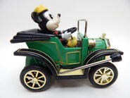 Mickey oldtimer car