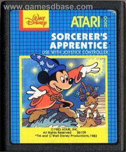 Sorcerer-s Apprentice - 1983 - Atari