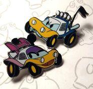 Donald daisy customized cars