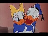 Donald hugs daisy