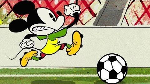 Mickey Mouse in O Futebol Classico