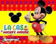 Sorpresa La Casa de Mickey Mouse