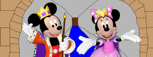 File:King Mickey and Queen Minnie at Medieval Fair by Hornean.jpg