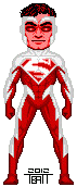 Micro red superman by everydaybattman-d4uitcj