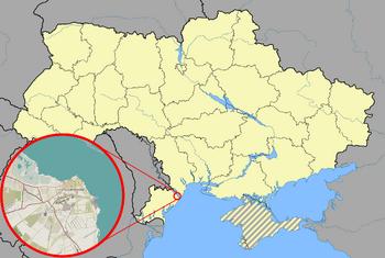 Sfatul location map