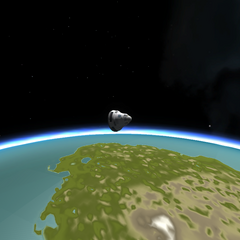 The load detaches from the final stage and continues to gain altitude