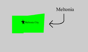 Meltonia Map