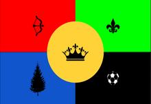 Barbettian flag