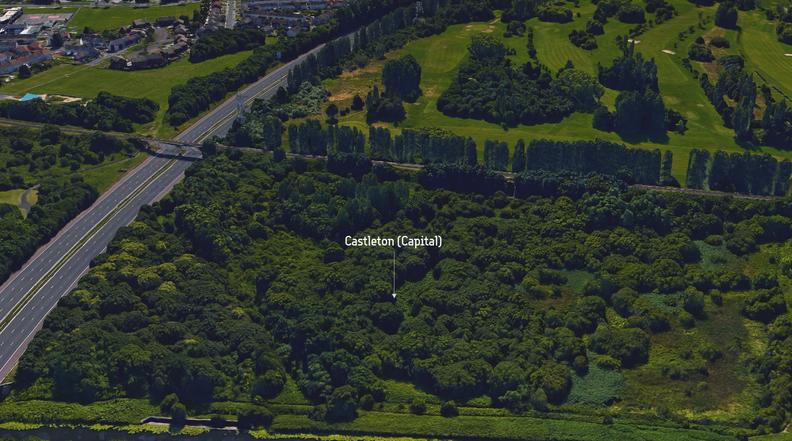 Castleton Map