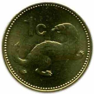 Scotan 1 Cent Coin