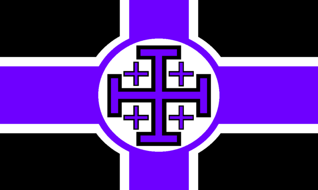 File:Flag of the Sovereign Order of the Black Robe.png