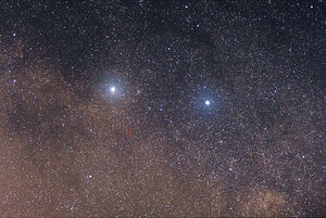 Alpha, Beta and Proxima Centauri (1)