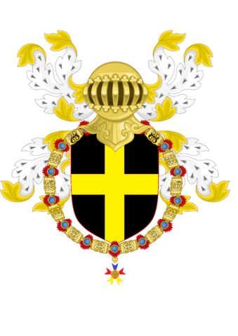 File:Michael Polidoro as a Knight of the Golden Dragon COA (PNG).png