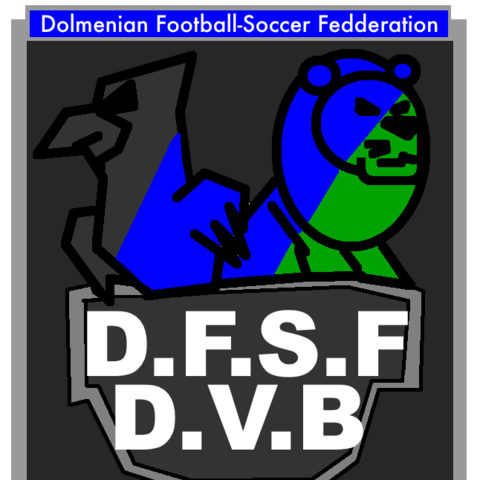Dolmenian Football-Soccer Federation -  logo 2