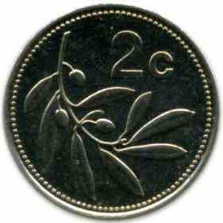 Scotan 2 Cent Coin