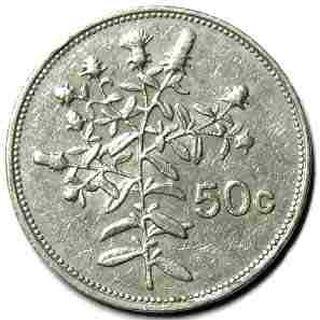 Scotan 50 Cent Coin