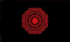 Red Lotus Flag