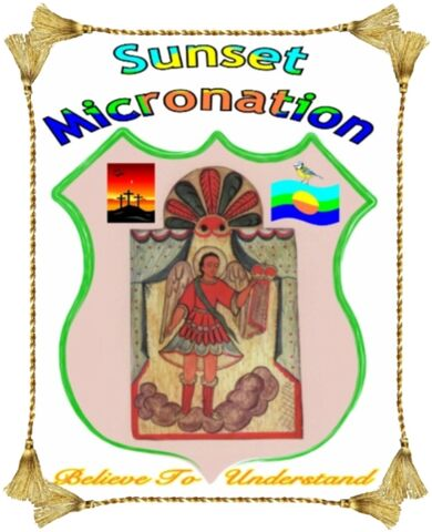 File:Sunset Micronation - Crest (with frame).jpg