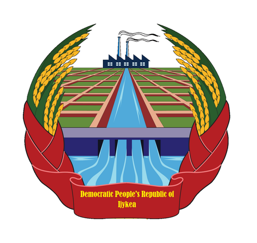 File:Coat of arms of Democratic People's Republic of Ijykea.png